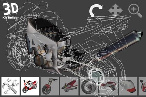 3D Kit Builder (Motorbike) screenshot 1