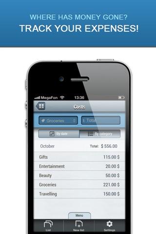 Listick Lite: Grocery Shopping List screenshot 4