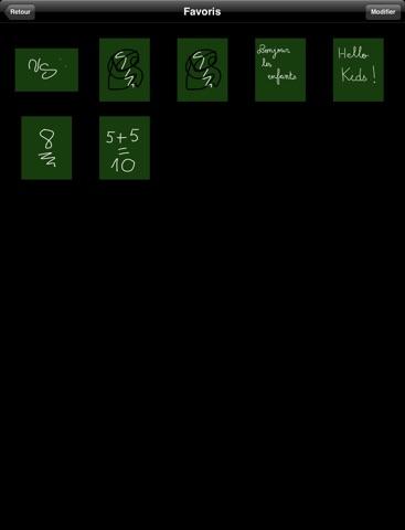 Tableau sur iPad pour écrire dessiner noter à la main screenshot 2