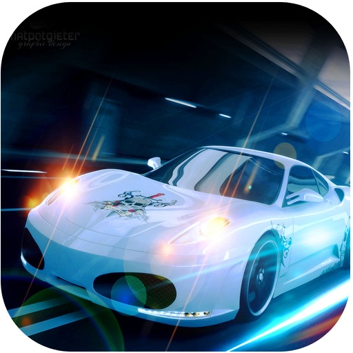 Cartoon Tiles Puzzle: Need For Fast Asphalt Cars GT