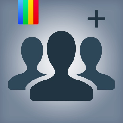 Followers + for Instagram - Get 1000 More Likes, Followers & Video Views on IG Free Icon
