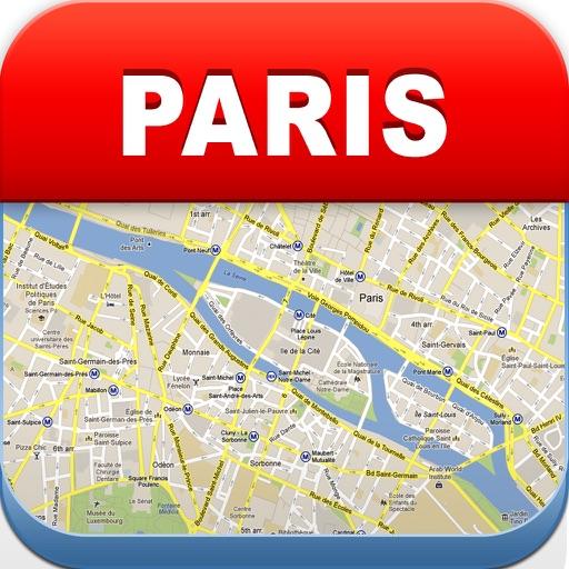 巴黎离线地图 – 城市 地铁 机场