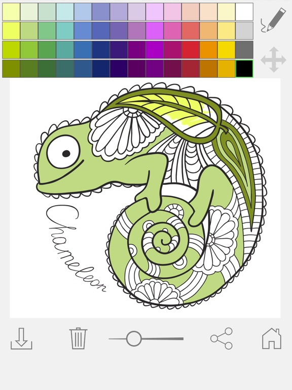Paint Color Mandalas Coloring Book For Adults On The App Store