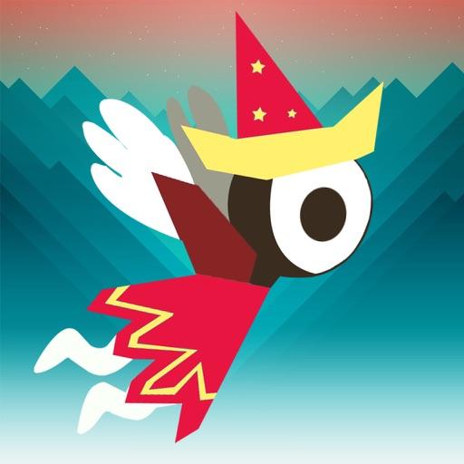Bird Slash:Fly Monument Up in The Dark Valley iOS App