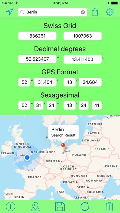 download Swiss Grid Coordinates Tool apps 4