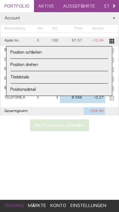 Screenshot von Esfera Capital2