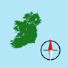 Mike Irving - Irish Grid Ref Compass - gps map coordinates tool artwork