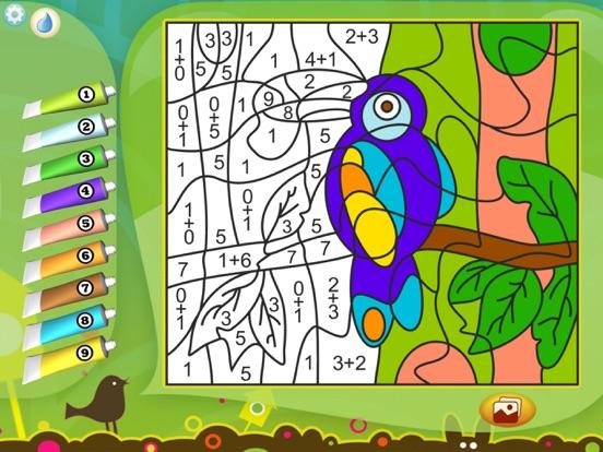Рисуй по номерам - Животные для iPad