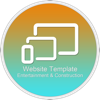 Website Template (Entertainment & Construction) With Html Files Pack6 - Sharon Sharon