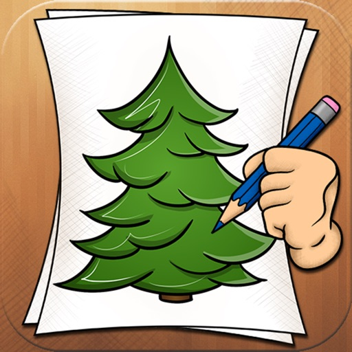 Learning to Draw Forest Trees iOS App