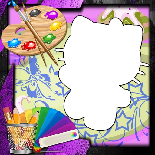 Color For Kids Games Hello Kitty Edition iOS App