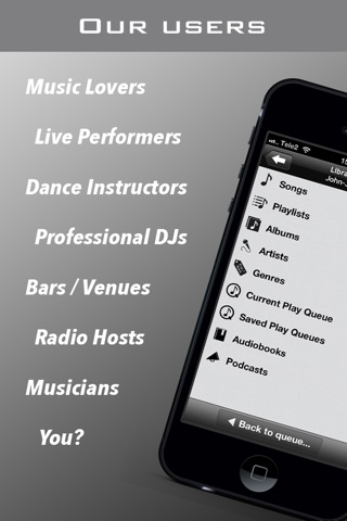 PlayMyQ - Music Player • Remote • Jukebox screenshot 4