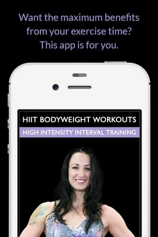 HIIT Bodyweight Workouts: High Intensity Interval Training screenshot 1