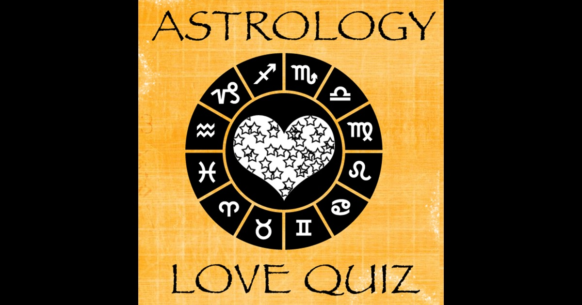 astrology love quiz on the app store