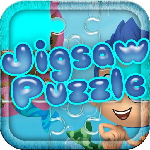 Jigsaw Puzzles for Kids: Bubble Guppies Version Icon