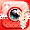 Niedliche Aufkleber Foto Automat – Verbessern Ihre Fotos mit Cool Aufkleber für Bild.er und Text Füg icon