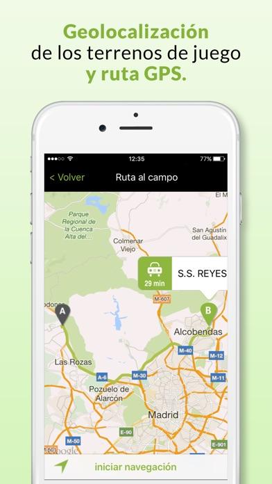 download Matchapp - Calendario, resultados de tu Federación apps 1
