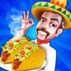 Taco Kitchen Cafeteria  - A Mexican Chef Master Food Cooking Scramble Maker games (Kids & Girls)
