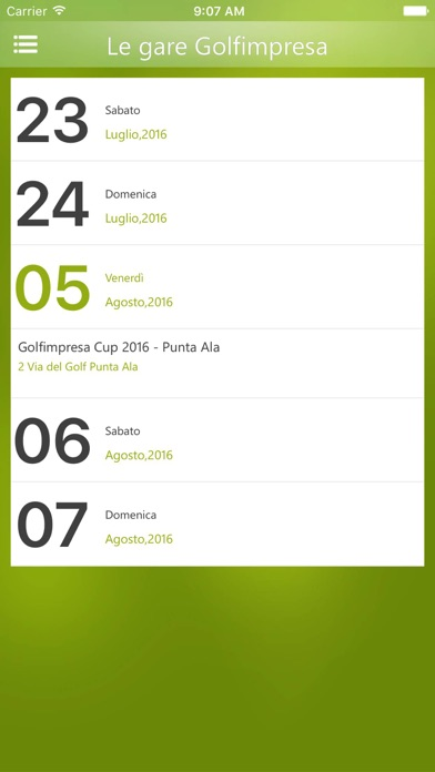 Screenshot of Golfimpresa3