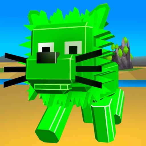 Cube Lion Survival Simulator Full iOS App