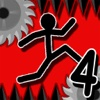 Dumb Stickman Run 4 (Challenge Gravity and don't die running in danger zone like dumber guy. Win the scary race and be a happy man)