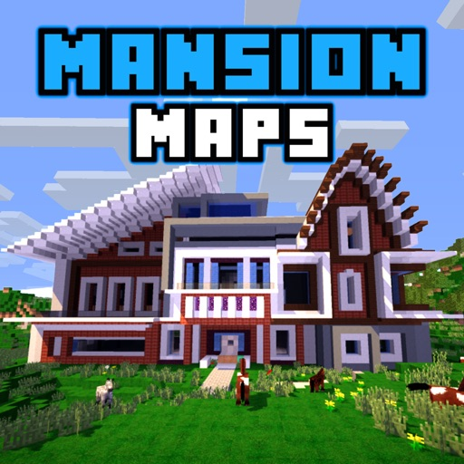 MANSION MAPS for Minecraft PE - The Best Maps for Minecraft Pocket ...