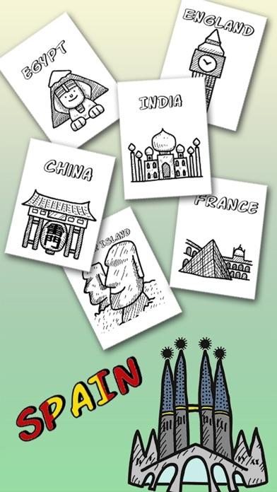 Screenshot of Illustrazioni e disegni dei monumenti del mondo - libro da colorare per adulti e bambini1