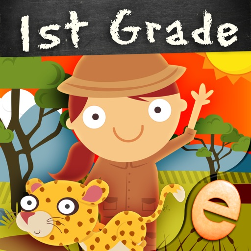 Animal First Grade Math Games for Kids in Kindergarten, First and Second Grade Premium