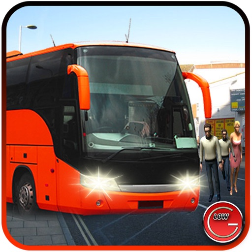 City Bus Driver Simulator - Pick the Passengers and Drop them Enjoy the drive in city iOS App