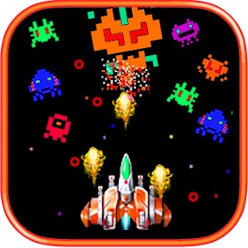 Galaxy Space Shoot Defense Alien War Craft iOS App
