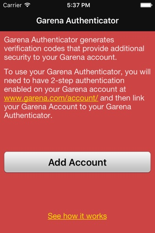Download Garena Authenticator app for iPhone and iPad