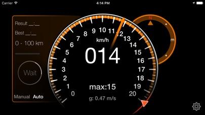 Speedometer [GPS] СпидометрСкриншоты 3