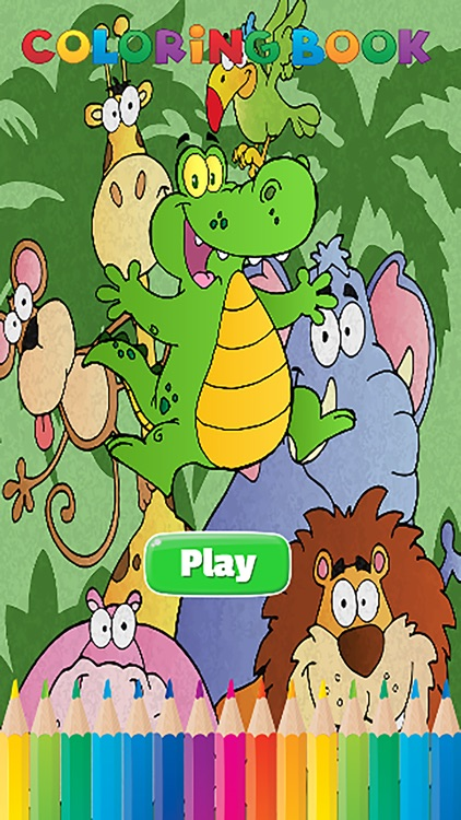 wild animals coloring book for kids all pages coloring and painting book games free hd