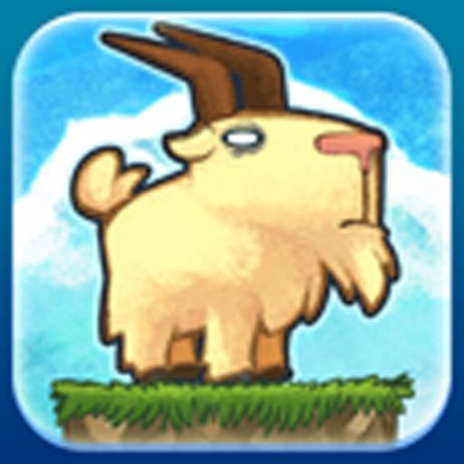 山羊向上冲:Go Go Goat! Free Game【纵版跳跃】