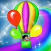 Color Balloons Ride & Learn Simulator Game