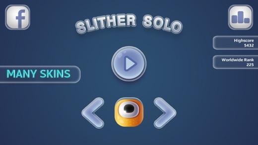 Slither Solo : Классический змея Screenshot