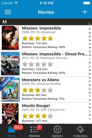 Movie Collector Database Pro screenshot 4