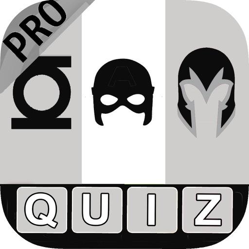 Comic Super Hero Trivia Quiz Pro 2 - Popular Comics Guessing Games iOS App