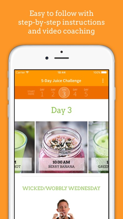 Download Jason Vale's 5-Day Juice Challenge (5lbs in 5 Days) App