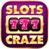 2016 A Craze Slots Treasure Lucky Gambler Golden - FREE Classic Vegas Casino Slots Game Machine