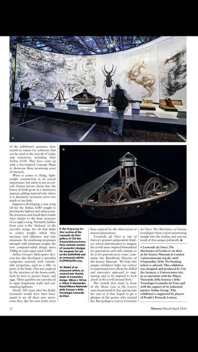 Minerva (magazine) review screenshots