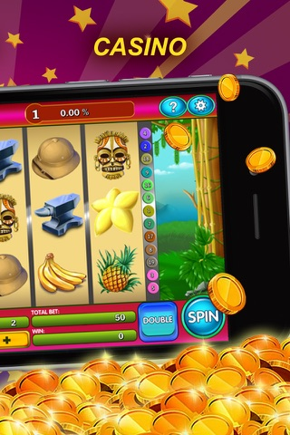 Monkey Game - Casino & Slots screenshot 2