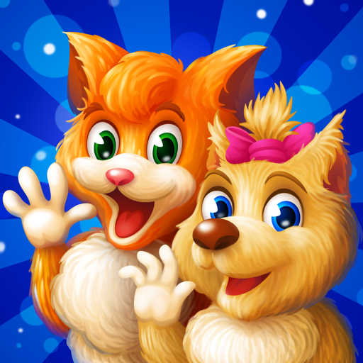 Cat and Dog Adventure - games for kids