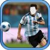 2016コパアメリカの場合顔・スワップHDD - スーパースターサッカー選手写真フレームテンプレートによるスイッチフェイス