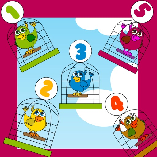 Babys and Kids Game: Play with Birds in the Pet Store Icon