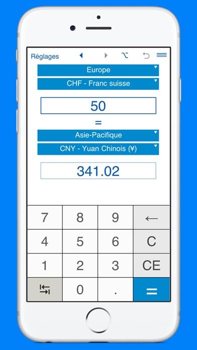 Capture d'écran de Convertisseur de devises et calculateur de monnaie3