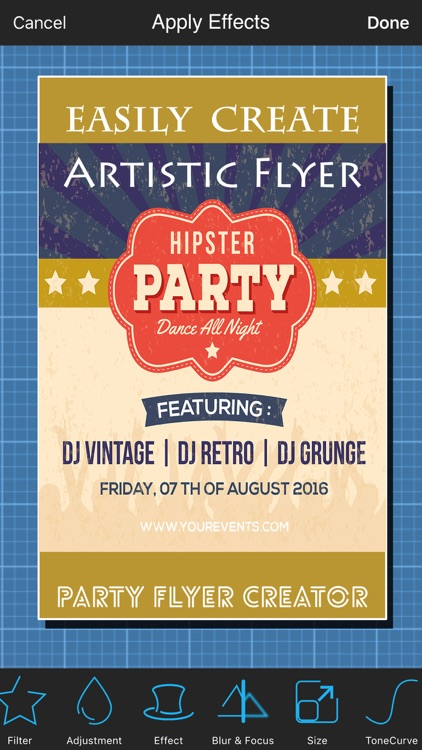 Party Flyer Creator - Flyers for Promotions, Parties, Music, Band ...