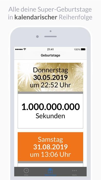 AgeApp Screenshot