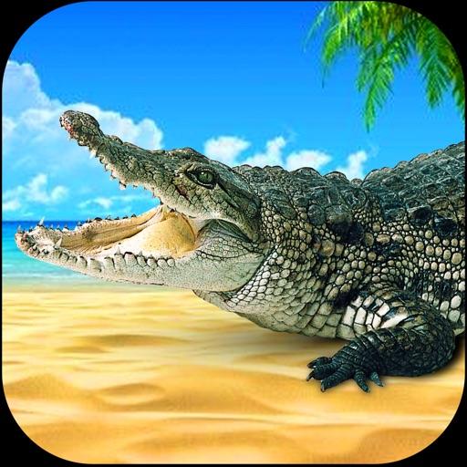 Wild Stray Crocodile Sim-ulator iOS App