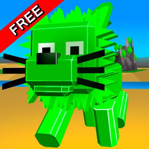 Cube Lion Survival Simulator Free iOS App
